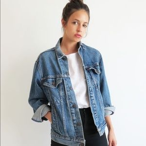 Urban Outfitters Jackets & Blazers - Vintage Oversized Denim Jacket