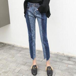 Denim - • last 2 • Colorblock jeans