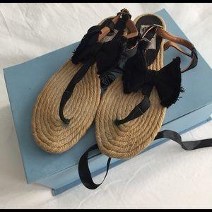 Lanvin Shoes - Lanvin espadrille sandal size 37