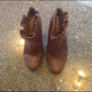 me too Shoes - Brown leather Me Too boots 8