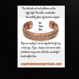 Jewelry - Bracelet-Copper & Magnetic Bracelet