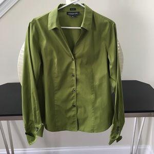 Jones New York Tops - New!!  Green button down shirt