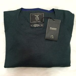 Maker & Company Other - Maker & Company Silk and Cashmere Crewneck Sweater