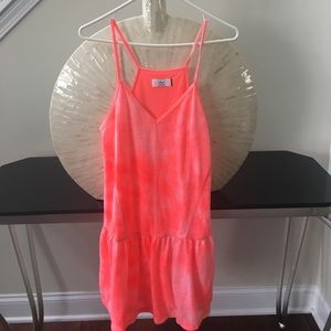Dolce Vita Dresses & Skirts - Neon pink coverup dress
