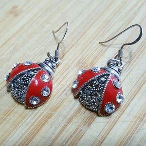 Jewelry - Lady Bug Earrings