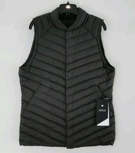 lululemon athletica Other - NWT Men's black Lululemon snap down vest, XL