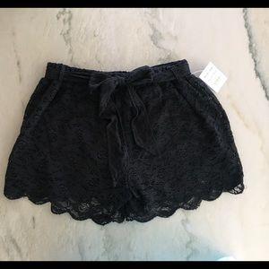 Freestyle Pants - Freestyle Revolution Black Lace Shorts