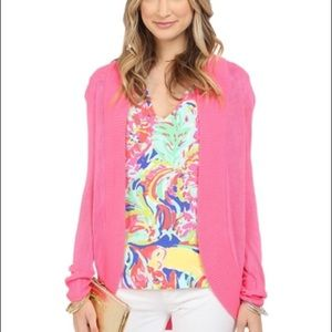 Lilly Pulitzer Sweaters - NWT Lilly Pulitzer Amalie Cardigan Pink