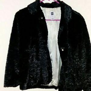 Faux Lamb Fur Coat