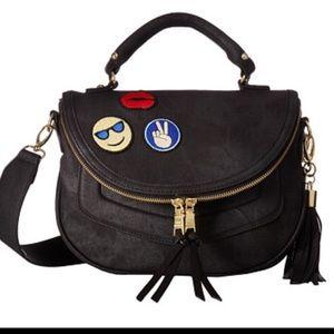 Steve Madden Handbags - Steve Madden black patch crossbody bag