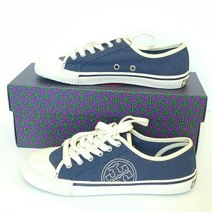 TORY BURCH NAVY DANIEL SNEAKERS