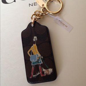 Coach Accessories - NWT Coach Bonnie Cashin Keychain