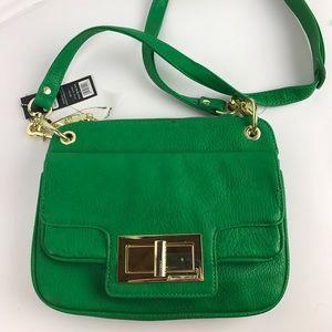 Olivia + Joy Handbags - Oliva & Joy Payton Green Crossbody Shoulder Bag