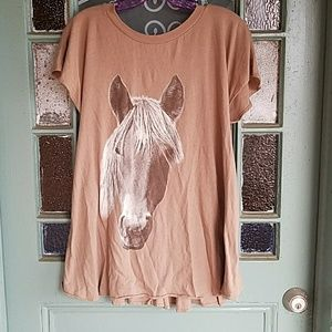 Wildfox wild horses top