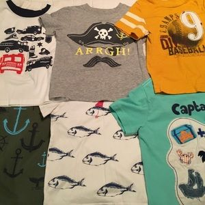 Carter's Other - Boys 3T short sleeved shirts