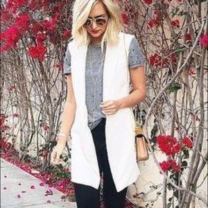 Kaii Jackets & Blazers - Soft white vest