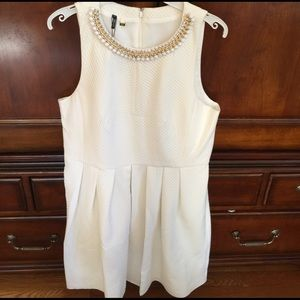 4. collective Dresses & Skirts - 4. Collective Creme Dress