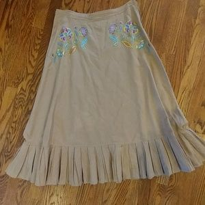 Oilily Dresses & Skirts - Stunning Oilily Embroidered Prairie Skirt size 8