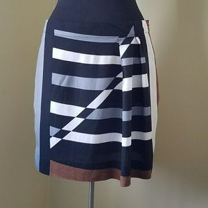 Derek Lam Dresses & Skirts - NWOT, Derek Lam, Med, Color Block Skirt