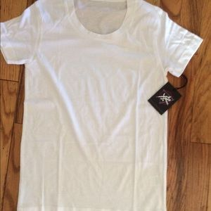 Young & Reckless Tops - Young n Reckless white tee small NWT