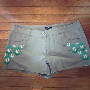 Isabel Marant pour H&M Pants - H&M Isabel Marant Inspired Shorts