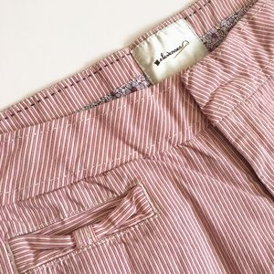 Anthropologie Pants - Anthropologie striped Bermuda shorts by Elevenses