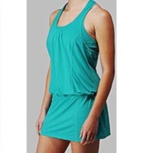lululemon athletica Other - Lululemon Run for Fun Running Tennis Dress Teal 2