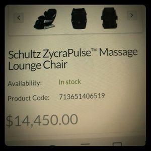 Schultz Other - Schultz massage chair
