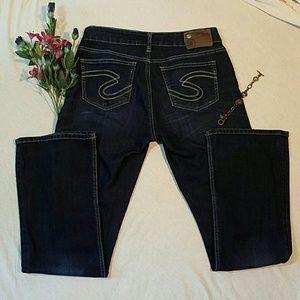 Silver Jeans Denim - Silver Jeans 29x31 Natsuki