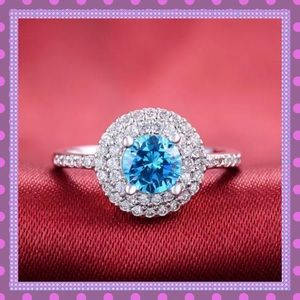 Boutique Jewelry - 🌸STUNNING Turquoise-Sapphire Ring🌸
