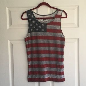 Other - (Men) American Flag Tank Top