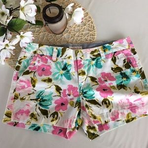 Merona Pants - Floral Print Chino Short