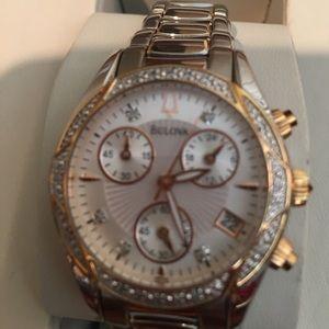 Bulova Accessories - NWT BULOVA Diamond 💎 Rose Gold/Silver Watch