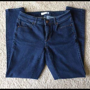 "LOFT Denim - LOFT ""curvy skinny"" jeans"