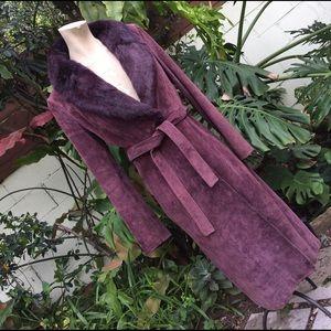 Mango Jackets & Blazers - MNG genuine Suede leather coat