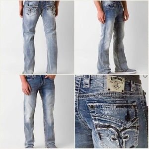 """Rock Revival Other - Rock Revival Lanny B distressed jeans 31"""" inseam"""