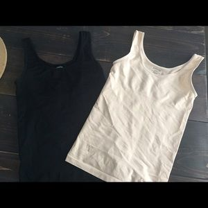 Yummie by Heather Thomson Tops - Yummie shaping tank tops set of 2