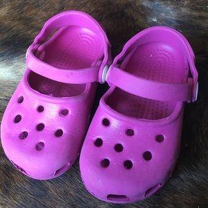 CROCS Other - Jibbitz by croc pink kids XS 6/7