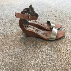 Sam & Libby Shoes - Sam & Libby wedge sandals