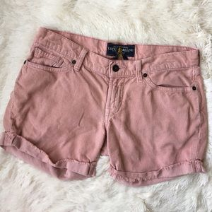Lucky Brand Pants - Lucky Brand dusty rose shorts