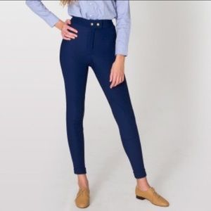 American Apparel Pants - American Apparel Navy Riding Pants