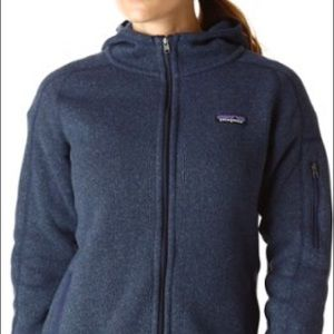 Patagonia Tops - Patagonia better sweater hooded zip up. Size large