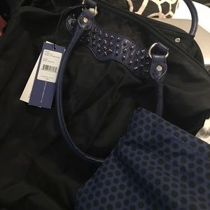 Rebecca minkoff travel tote with studs