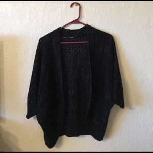 Maurices Sweaters - Knitted black sparkly sweater!