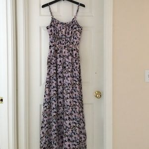 Dresses & Skirts - Bebe Multi colored long dress