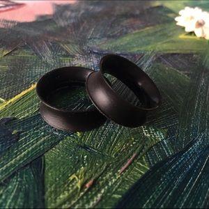 Kaos Jewelry - Black Silicone Kaos