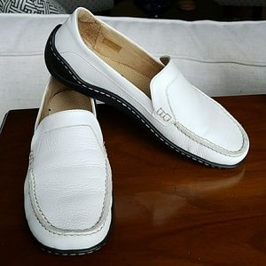 Josef Seibel Shoes - Josef Seibel white loafers