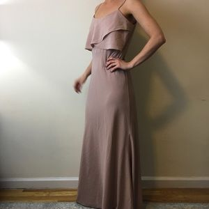 Jenny Yoo Dresses & Skirts - Jenny Yoo Collection Pink Maxi Bridesmaid Dress