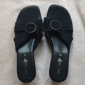Kim Rogers Shoes - Kim Rogers navy blue sandals