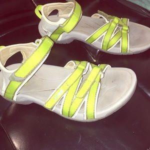 Teva Shoes - GREEN TEVA SANDALS ADJUSTABLE STRAPS